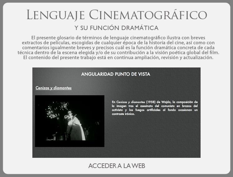Lenguaje Cinematográfico. Cine Rodriguez Alvarez